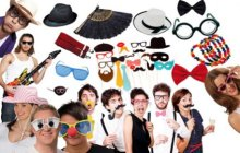 Photo Booth Accessoires und Requisiten
